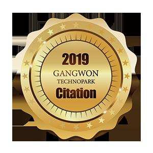 Citación del director de Gangwon Techno Park 2019